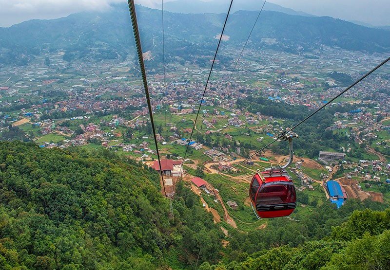Chandra Giri hills Cable Car